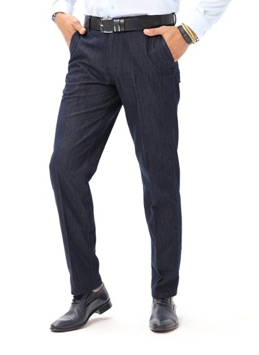 Modaplaza Erkek Pantolon Lacivert Lacivert